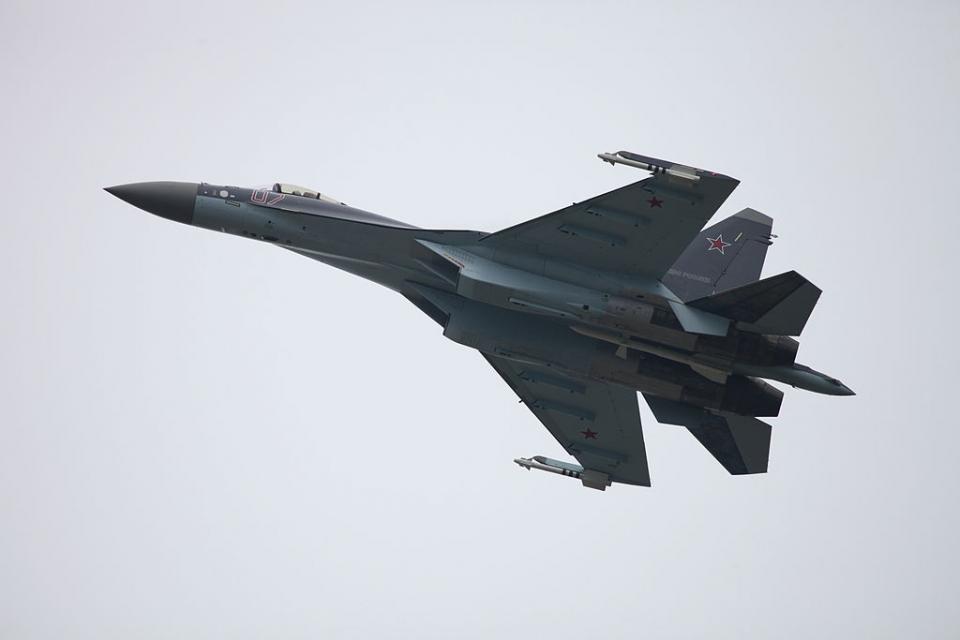 Су-35С подняты по тревоге на Дальнем Востоке