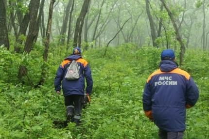 В Спасском районе Приморья спасатели нашли заблудившегося пенсионера