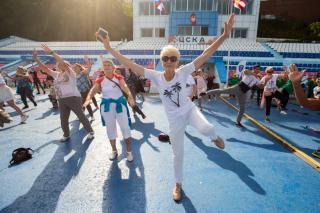 Фото: Татьяна Меель / PRIMPRESS | Празднование Дня физкультурника состоялось во Владивостоке