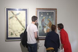 Фото: Екатерина Дымова / PRIMPRESS   Уникальные офорты представлены в Приморском отделении Союза художников во Владивостоке