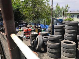 Фото: АТУ Первомайского района   Во Владивостоке владельцам шиномонтажных мастерских напоминают о необходимости утилизации покрышек