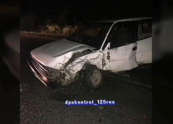ДТП с участием пожарной машины произошло в Приморье