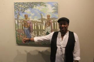 Фото: Андрей Горбонос   Во Владивостоке проходит выставка афромадагаскарского художника