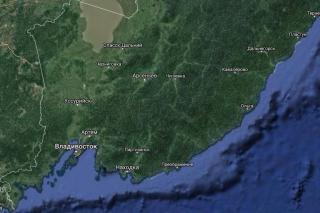 Фото: карта Google | Жителям Приморья сказали, куда ни в коем случае нельзя ехать на выходных