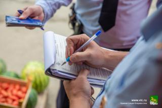 Фото: Анастасия Котлярова/ vlc.ru   Нелегальных торговцев привлекли к ответственности в Первореченском районе
