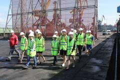 Работу систем пылеподавления в портах Приморья проверили школьники