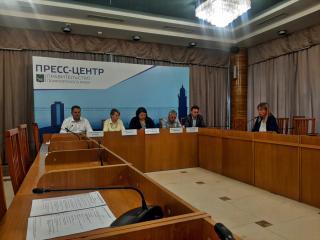 Фото: PRIMPRESS   Во Владивостоке прошла пресс-конференция, посвященная Приморскому строительному форуму осенней сессии