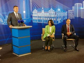 Фото: «Единая Россия»   В Приморье прошли первые дебаты кандидатов на выборы в Госдуму и Законодательное собрание края