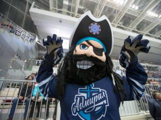 Хоккейный клуб «Адмирал» из Владивостока проиграл «Ак Барсу»