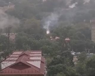 Фото: скриншот dpskontrol_125rus | Авария оставила без света жителей одной из улиц Владивостока