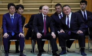Международный турнир по дзюдо пройдет во Владивостоке под патронатом Владимира Путина и Синдзо Абэ