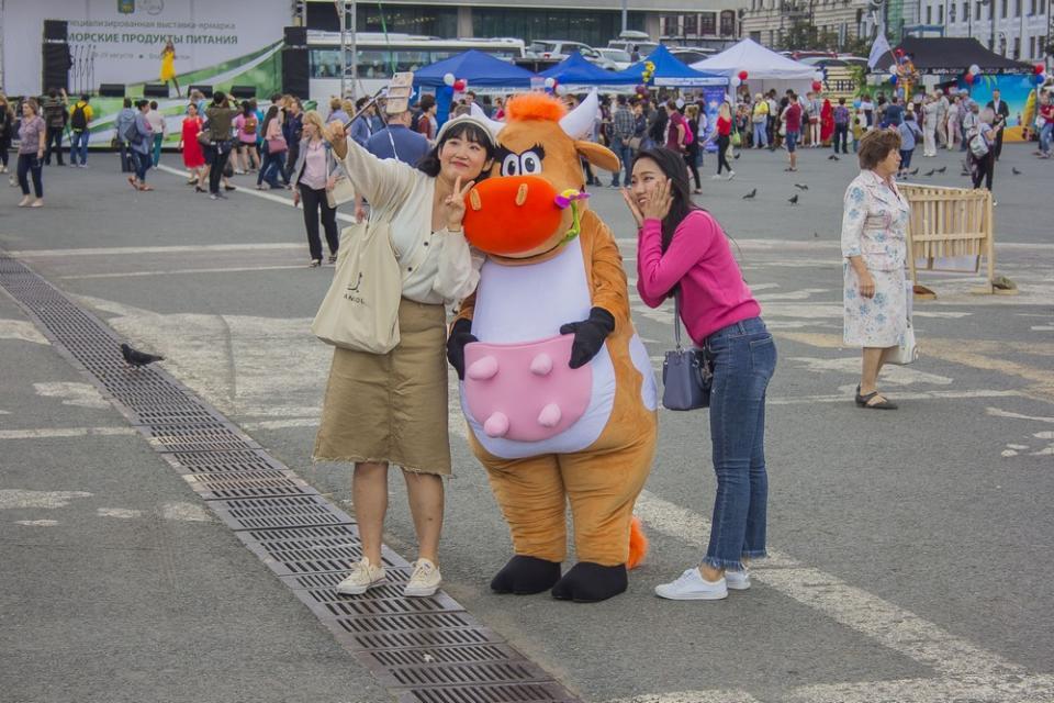 Выставка-ярмарка «Приморские продукты питания» открылась во Владивостоке