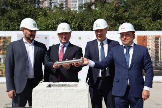 Фото: PRIMPRESS| Софья Федотова | Во Владивостоке заложили капсулу времени в честь реализации нового масштабного проекта