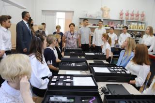 Фото: «Единая Россия» | В Приморье подготовка медицинских кадров начинается со школы