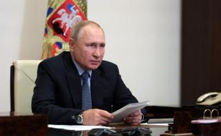 Фото: kremlin.ru | Президент России Владимир Путин прилетел во Владивосток