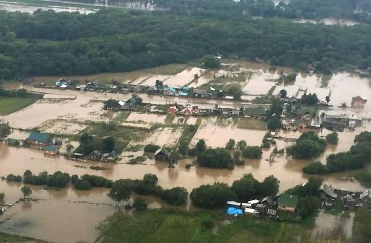 Село Мельничное эвакуируют из-за прорыва дамбы— Потоп вПриморье