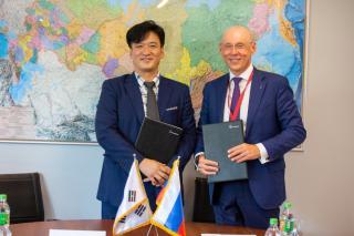 Фото: Пресс-центр Ростелеком | Ростелеком и южнокорейская компания Naretrends будут совместно развивать сервисы для цифровизации АПК