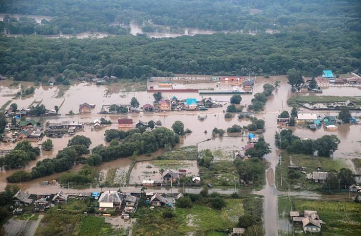 1,2 млрд руб. направят Приморью наустранение последствий тайфуна «Лайонрок»