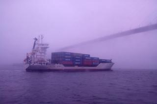 Фото: Лебедева Наталия   Капитана судна, протаранившего мост, могут посадить на пять лет