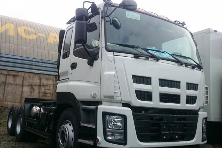Новая модель грузового автомобиля марки ISUZU появилась в России