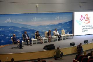 Сбербанк принял участие в дискуссии «Малый бизнес в эпоху глобализации и цифровизации» в рамках ВЭФ