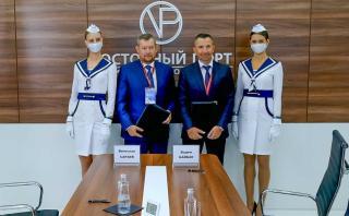 Фото: Восточный Порт | АО «Восточный Порт» и АО «РЖД Бизнес Актив» договорились о сотрудничестве в области развития контейнерных перевозок
