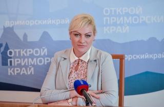 Фото: primorsky.ru   Анна Алеко: «Программа партии направлена на развитие человеческого капитала и развитие Приморского края»