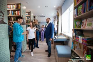 Фото: Анастасия Котлярова/vlc.ru | Жителей Владивостока приглашают посетить уникальное библиотечное пространство