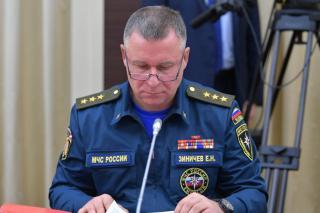 Фото: пресс-служба Кремля | Стали известны подробности гибели главы МЧС РФ Евгения Зиничева