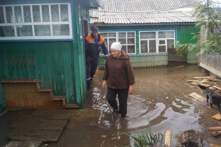 Вода ушла из12 населённых пунктов вПриморье за прошедшие сутки