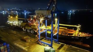 Фото: ВМТП | ВМТП стал первым в России портом захода нового контейнерного сервиса MSC