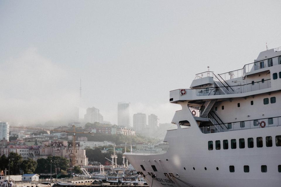 Впервые в этом году во Владивосток прибыл круизный лайнер Pacific Venus