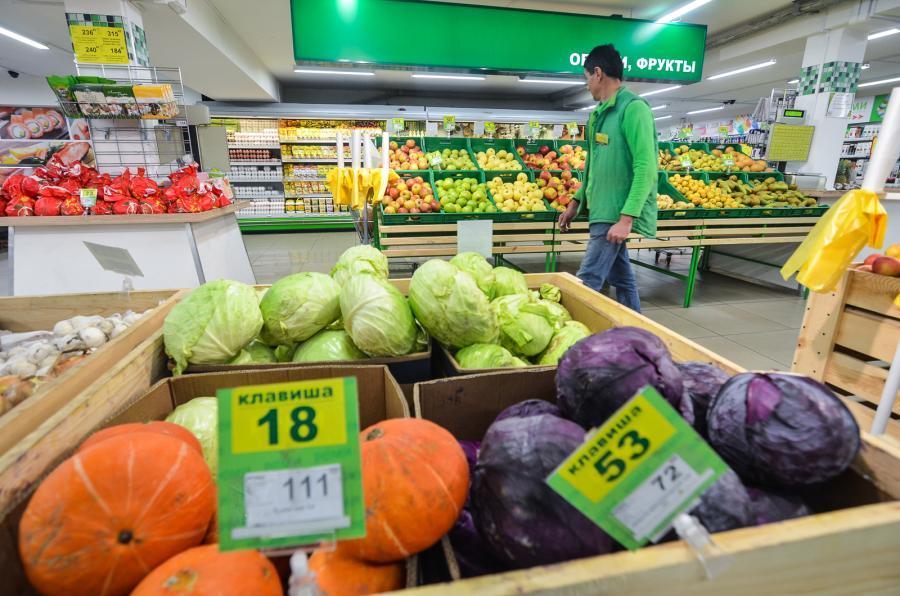 Инфляция закусила продуктами