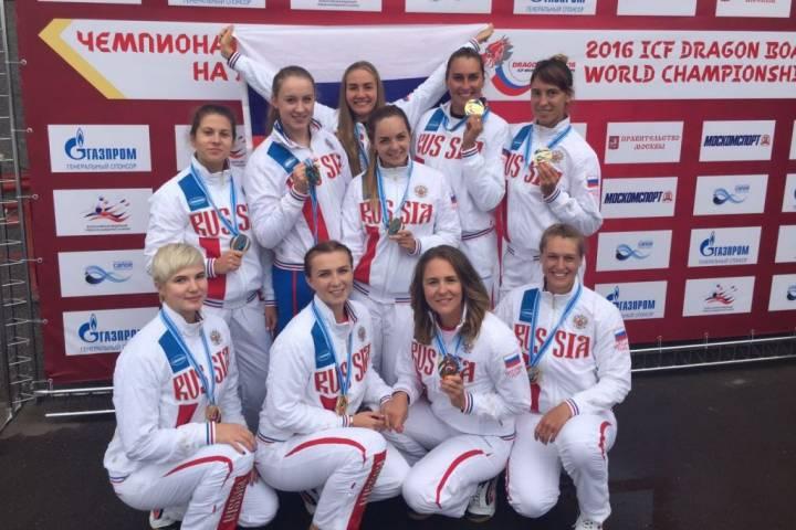 Спортсменки изПриморья стали двукратными чемпионками мира вгребле на«драконах»