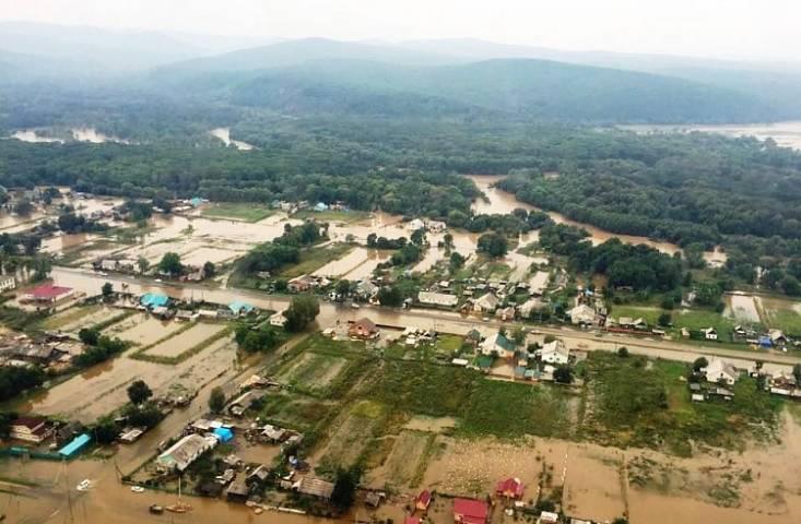 После стихии вПриморье неменее 730 домов признаны непригодными для жилья