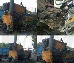 Еще одна авария с грузовиком случилась во Владивостоке сегодня
