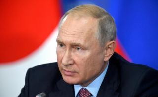 Фото: пресс-служба Кремля | Находящийся на самоизоляции Путин срочно обратился к россиянам
