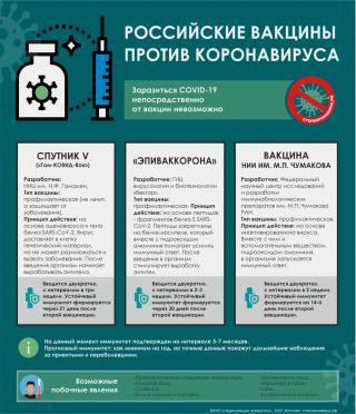 Фото: PRIMPRESS | Приморцам рассказали о возможных побочных явлениях после вакцинации от COVID-19 (инфографика)