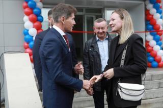 Фото: primorsky.ru | Во Владивостоке сдали первый дом под арендное жилье