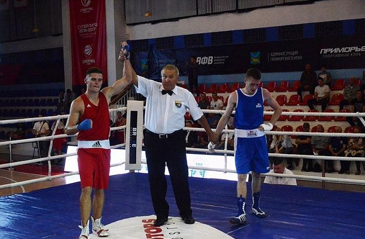 Приморские спортсмены отличились на Всероссийском турнире по боксу