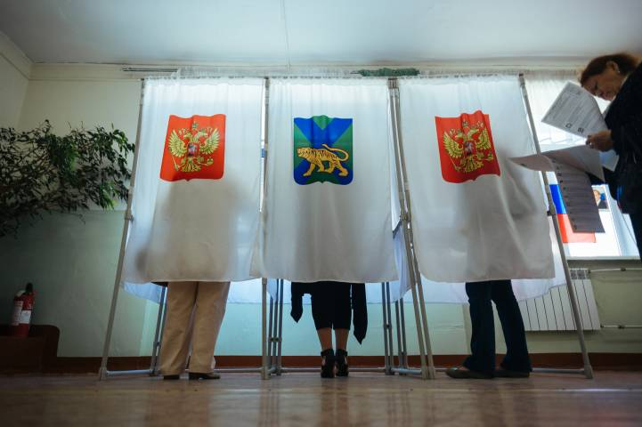 Выборы вПриморье: предварительные результаты