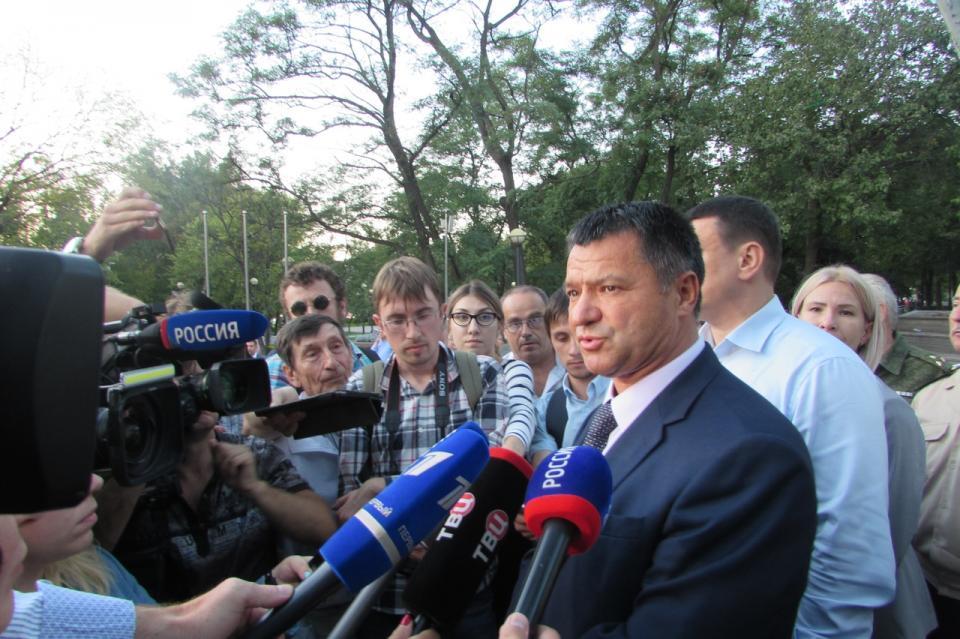 Андрей Тарасенко прокомментировал ситуацию вокруг выборов в Приморье