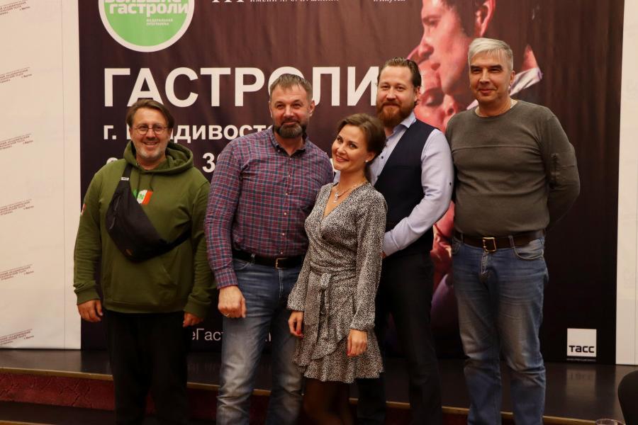Во Владивостоке стартовали большие гастроли драматического театра им. А. С. Пушкина из Республики Саха (Якутия)