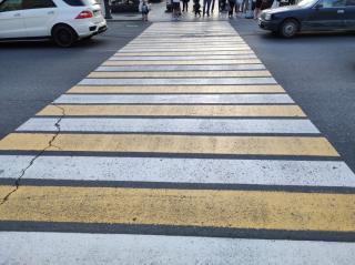 Фото: PRIMPRESS | На одной из остановок Владивостока переделают пешеходный переход