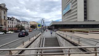 Фото: PRIMPRESS   Владивостокцам рассказали о перекрытии проезда в центре города
