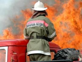 В Приморье пожарные за час потушили баню