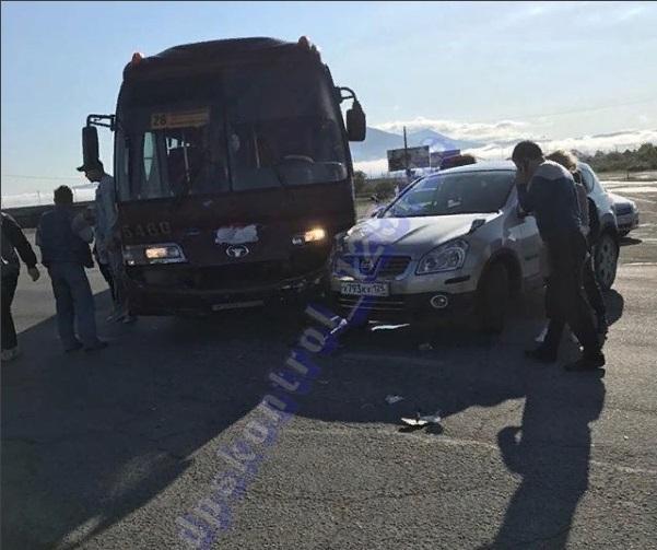 В Приморье произошло ДТП с участием пассажирского автобуса