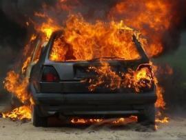 Фото: 25.mchs.gov.ru | Уже три ночи подряд: во Владивостоке вновь сгорел автомобиль