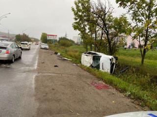 Фото: 25.мвд.рф   Сразу пять человек погибло в ДТП накануне в Приморье