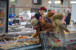 Фото: Татьяна Меель / PRIMPRESS | Приморцы за неделю раскупили дешевую горбушу